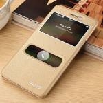 เคส Oppo R7 Lite - เคสฝาพับแบบมีช่องสไลด์รับสาย Alivo [Pre-Order]