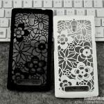 เคสมือถือ Oppo Find 7- เคสฉลุลายดอกไม้งานวินเทจ Case [Pre-Order]