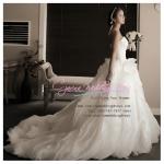 WB40022 ขาย ชุดแต่งงาน ดาราสุดหรู ราคาถูก สวยหรูสไตล์เจ้าหญิง