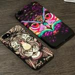 เคสมือถือ iPhone7Plus-เคสซิลิโคนสกรีนลายสุตว์เรืองแสง [Pre-Order]