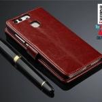เคสมือถือ Huawei Ascend P9 Plus- เคสฝาพับหนังPU [Pre-Order]