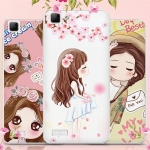 เคส Vivo Y35 - Cartoon Silicone Case #2[Pre-Order]
