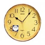 Seiko นาฬิกาแขวน รุ่น QXA001Y - Gold