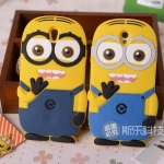 Oppo Find 5 Mini -Minion silicone Case [Pre-Order]