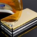 """เคสHuawei Ascend P8 Lite 5.0"""" - เคสโลหะ ฝาครอบเงา Luxury Metal Case[Pre-order]"""