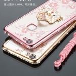 เคสมือถือ Huawei GR3 - Case เคสtpuขอบเพชรประดับแหวนนิ้ว[Pre-Order]