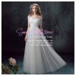 wm5067 ขาย ชุดแต่งงานโชว์ไหล แขนยาว สวยที่สุดในโลก ราคาถูกกว่าเช่า