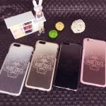 เคสมือถือ iPhone 6sเคสซิลิโคนฝาหลังโลหะสลักลายเสือ [Pre-Order]