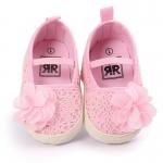 รองเท้าเด็กผ้าถักดอกเดซี่