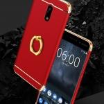 เคสมือถือ Nokia -Nokia6 เคสประกอบ3ชิ้น+ห่วงนิ้ว [Pre-Order]