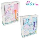Grace kids ชุดของขวัญสำหรับเด็กแรกเกิด 0-3 เดือน (6ชิ้น)