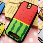 HTC One SV - Cartoon Silicone Case #1 [Pre-Order]