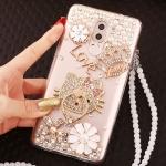 Case Huawei GR5 2017- เคสตกแต่งคริสตัล ประดับแหวนนิ้วหิ้วได้ ตั้งได้ [Pre-Order]