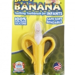 แปรงสีฟันนวดเหงือก Baby Banana [Baby Banana Teething Toothbrush for Infants]