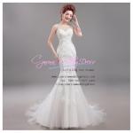wm5060 ชุดแต่งงานแนวเจ้าหญิง ทรงเมอร์เมด สวยสง่า เซ็กซี่ ที่สุดในโลก ราคาถูกกว่าเช่า