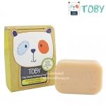 Toby สบู่สำหรับผู้หญิง สูตรอ่อนโยน Daily Intimate Mild Natural Soap 80g.