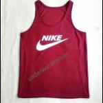 เสื้อกล้าม NKE สีเลือดหมู