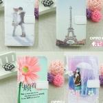 Oppo Find Way u7015 - Diary case ลายการ์ตูน[Pre-Order]