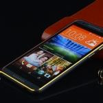 เคส HTC M9 - Metal Bumper case ขลิบทอง[Pre-Order]