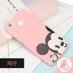 เคสมือถือ Huawei GR3 - Case ซิลิโคนสีชมพู สกรีนลายการ์ตูน[Pre-Order]