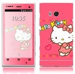 Sony Xperia Acro S -Film ลาย Hello Kitty [Pre-order]