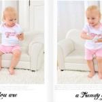 Minizoneเสื้อพร้อมกางเกงแขนขาสั้นสีชมพู