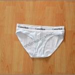 กางเกงชั้นใน CK สีขาว แบบขาเว้า