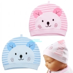 หมวกเด็กแรกเกิดลายหมี