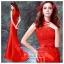 K-0018 พร้อมส่ง ชุดกี่เพ้าสวยๆ หรู สีแดง ราคาถูกกว่าเช่า ชุดยกน้ำชา thumbnail 1