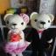 ตุ๊กตาถักคู่หมีแต่งงาน 12 นิ้ว thumbnail 1