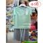 [เซต2ชิ้น] Lilsoft baby ชุดเสื้อแขนสั้น+กางเกงขาสั้นลายอวกาศ 100%Cotton thumbnail 12