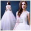 wm5088 ขาย ชุดแต่งงานแขนกุด ลูกไม้ซีทรู เว้าหลัง สวย เก๋ ดูดีแบบเจ้าหญิง ราคาถูกกว่าเช่า thumbnail 1
