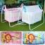 เปลไกวเด็ก Baby Cradle รุ่น C023 ลายหัวสัตว์ thumbnail 1