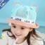 หมวกเด็กปีกกว้างมีหู Love Love thumbnail 3