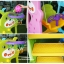 สไลเดอร์พร้อมแป้นบาสและชิงช้าพี่หมี 3in1 รุ่น LNZ9017-2 thumbnail 4