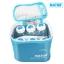 Natur ขวดนมและเจลเก็บความเย็นพร้อมกระเป๋า Cooler bag with breast milk storage bottles