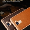 เคสมือถือ Huawei G7 Plus- เคสหนังแท้ ขอบโลหะ (พรีออเดอร์)