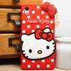 เคส Sony Xperia Z2 - Kitty. Silicone Case [Pre-order]