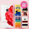 Nokia Lumia 1520- Cartoon Hard Case#2[Pre-Order]