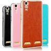 เคส Lenovo A6000 - Mofi Metalic Frame + PC Cover Case [Pre-Order]