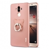 Case Huawei Mate9Pro - เคสแข็งYius ผิวกำมะหยี่ + แหวนนิ้วตั้งได้ (พรีออเดอร์)