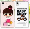 เคสOppo Mirror5 ,a51f - Cartoon Silicone case [Pre-Order]