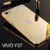 เคส Vivo Y37 - เคสขอบโลหะ ฝาหลังPC กระจกเงา case[Pre-Order]