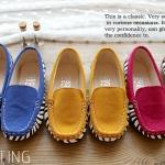 ❤❤S56 : รองเท้าคัชชูเด็กผู้หญิง ม้าลายน่ารัก ❤❤