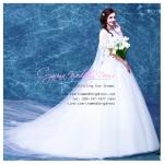 wm5087 ขาย ชุดแต่งงานวินเทจ สวย เก๋ ดูดีแบบเจ้าหญิง ราคาถูกกว่าเช่า
