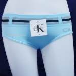 ชุดชั้นในผู้หญิง CK สีฟ้าขอบใหญ่ลายเข็มขัด3แถบ