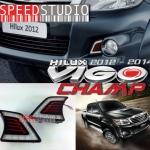 ไฟ DRL Daytime running LED Daylight Toyota Vigo Champ 2012-2014 วีโก้ แชมป์