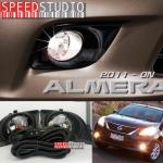 ไฟตัดหมอก สปอร์ทไลท์ Nissan Almera 2011 - 2013