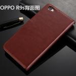เคสมือถือ Oppo R9s เคสฝาพับหนังPU(พรีออเดอร์)