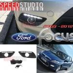 ครอบไฟตัดหมอก Daytime running light DRL Day light LED Ford Focus 4 ประตู 2009 2010 2011 2012